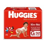 Fralda Huggies Supreme Care Mega G C/32