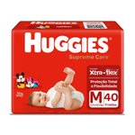Fralda Huggies Supreme Care Mega M C/40