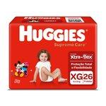 Fralda Huggies Supreme Care Mega Xg C/26