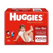 Fralda Huggies Supreme Care Xxg Com 26 Unidades
