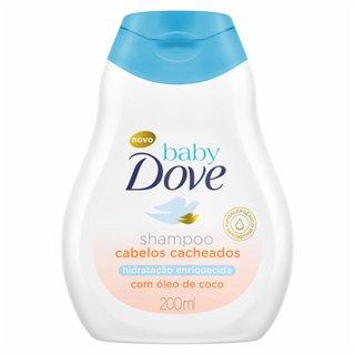 Shampoo Baby Dove Hidratação Enriquecida Cabelos Cacheados 200 Ml