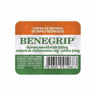 Benegrip 500mg 6 Comprimidos