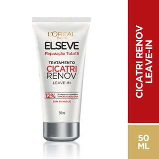 Leave-in Elseve Reparação Total 5 Cicatri Renov 50ml