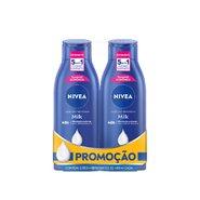 Kit Nivea Body Milk 400ml Com 40% De Desconto Na 2º Unidade