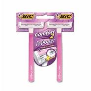 Aparelho Depilatório Bic Comfort 2 Women Com 2 Unidades