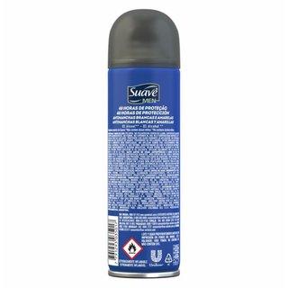 Desodorante Suave Aerosol Men Invisible 150 Ml