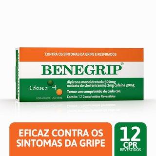 Benegrip 500mg 12 Comprimidos