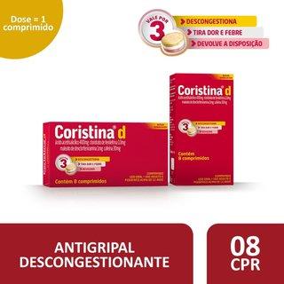Coristina D 8 Comprimidos