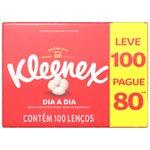 Lenço Kleenex Classic Original - Leve 100 Pague 90