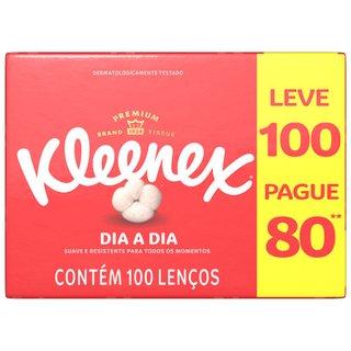 Lenço Kleenex Classic Original - Leve 100 Pague 80