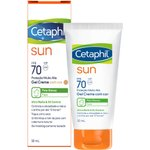 Protetor Solar Cetaphil Sun Ultra Matte & Oil Control Fps 70 Com Cor 50ml