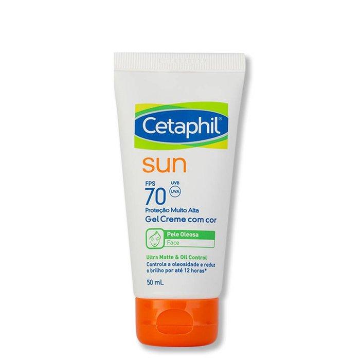0faf6da8d199a Protetor Solar Galderma Cetaphil Sun Com Cor Ultra Matte   Oil Control Fps  70 50ml