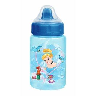 Copo Baby Go Com Valvula Redutora De Pingos 340ml Cinderela Azul