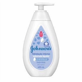 Sabonete Liquido Cremoso Johnson's Baby Hidratação Intensa 400ml