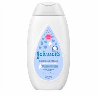 Loção Cremosa Johnson's Baby Hidratação Intensa 200ml