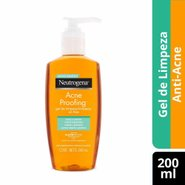Gel De Limpeza Neutrogena Acnepro Proofing 200ml
