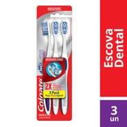 Escova Dental Colgate 360 Luminous White Pack C/3