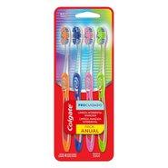 Escova Dental Colgate Pro Cuidado Pack C/ 4