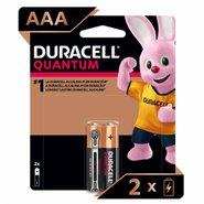 Pilha Alcalina Duracell Quantum Aaa 2un
