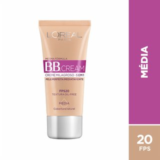 Base L'oréal Dermo Expertise Bb Cream Média Fps20 30ml