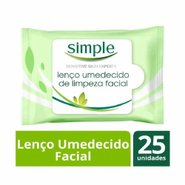 Lenço Umedecido Facial Simple Sensitive 25 Un