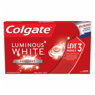 Kit Creme Dental Colgate Luminous White Leve 3 Pague 2