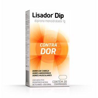 Lisador Dip 1g 20 Comprimidos