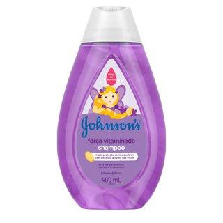 Shampoo Johnson's Baby Força Vitaminada 400ml