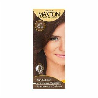 Tintura Maxton 6.7 Chocolate Kit Pratico