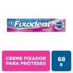Creme Fixador De Dentadura Fixodent Original 68g