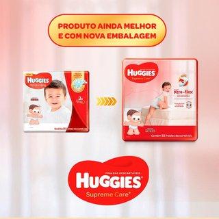 Fralda Huggies Supreme Care Hiper M Com 80 Unidades