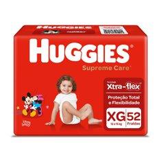Fralda Huggies Supreme Care Hiper Xg Com 52 Unidades