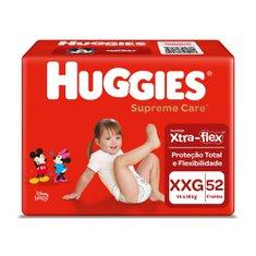 Fralda Huggies Supreme Care Hiper Xxg Com 52 Unidades