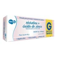 Nistatina +oxido Zinco Pomada 60g Ems Genérico P