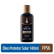 Óleo Protetor Com Acelerador De Bronzeado Panvel Solar Fps6 140ml