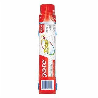 Kit Enxaguatorio Colgate Total12 Clean Mint 500ml Gts Creme Dental Total 12 Clean Mint 90g
