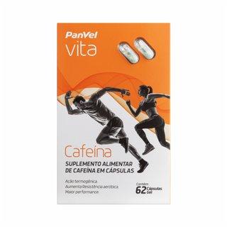 Cafeína Panvel Vita 62 Cápsulas