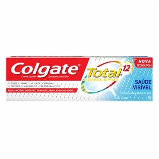 Creme Dental Total 12 Saude Visivel 70g