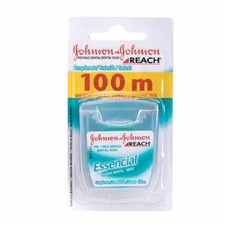 Fio Dental Johnson's Reach Essencial 100m