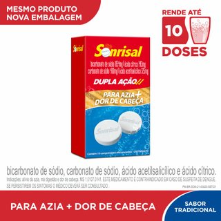 Sonrisal Tradicional 10 Comprimidos Efervescentes
