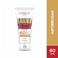 Protetor Solar Facial L'oréal Solar Expertise Antirrugas Fps60 50g