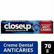 Creme Dental Closeup Proteção Bioativa Bloqueio Anticáries 70g