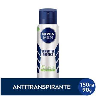 Desodorante Nivea Sensitiv For Men Aerosol 150ml