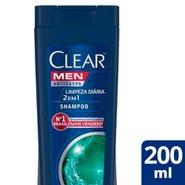 Shampoo Clear Limpeza Diaria 2 Em 1 200ml