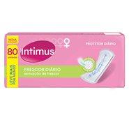 Protetor Diario Intimus Days Com Perfume Com 80 Unidades