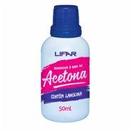 Acetona Lifar 50ml