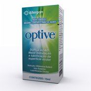 Optive Colirio Allergan Nova Fórmula 15ml