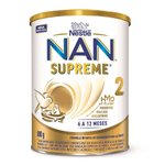 Nestlé Nan Supreme 2 Fórmula Infantil Lata 800g