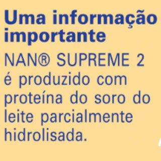 Fórmula Infantil Nan Supreme 2 Hmo 800g
