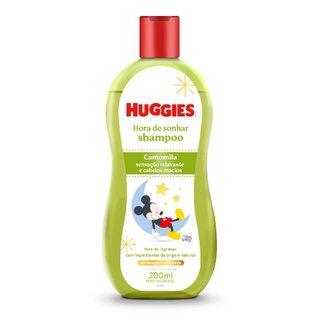Shampoo Huggies Turma Da Mônica Chá De Camomila 200ml